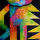 Wilfred the cat by Karin Zeller
