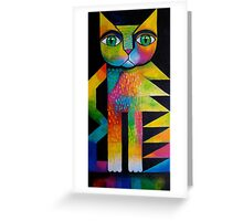 Wilfred the cat Greeting Card