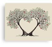 love trees Canvas Print