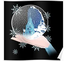 Elsa's Snow Globe Poster