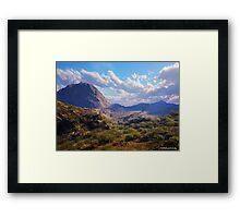 Desert High Framed Print