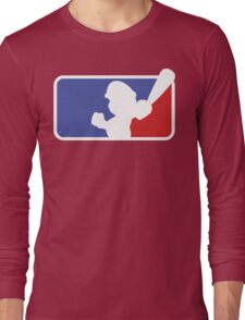 Major League Mario Long Sleeve T-Shirt