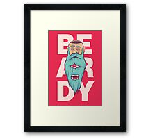 Beardy Framed Print