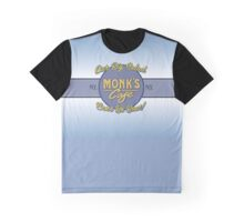 """Monk's Cafe (Seinfeld) - """"Big Salad"""" Banner Graphic T-Shirt"""