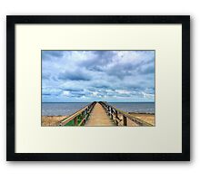Horizon Line. Framed Print