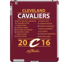 Cleveland Cavaliers 2016 NBA Champions vs. Golden State Warriors iPad Case/Skin