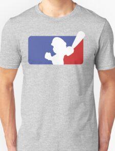 Major League Mario (No Border) Unisex T-Shirt