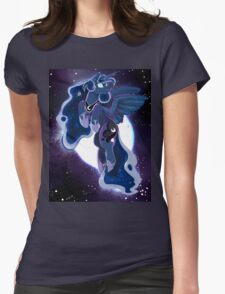 The Moon Princess Womens Fitted T-Shirt