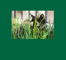 Cat in grass (Clothing products) Unisex T-Shirt