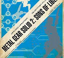 MGS2 Poster by NerdUnemployed
