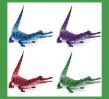 Coloured Crocodiles Kids Clothes