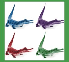 Coloured Crocodiles Kids Clothes