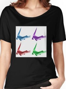 Coloured Crocodiles Women's Relaxed Fit T-Shirt