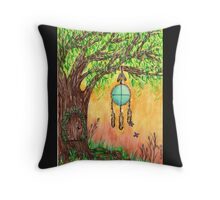 Tree of Peace Throw Pillow