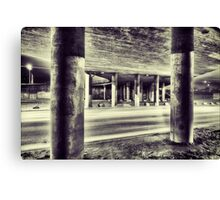 Under the Overpass. Canvas Print