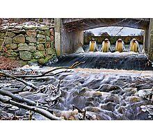 Raging River. Photographic Print