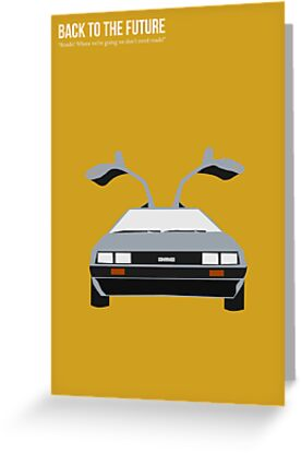 Back To The Future 'Roads' - Yellow by Nik Jones