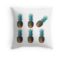 Fresh Pineapples Throw Pillow