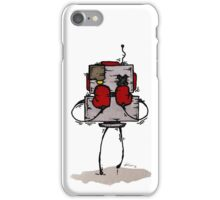 NUMB LOK the robot iPhone Case/Skin