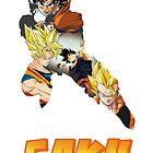 Goku DBZ w/ Title by PMckennaDesigns