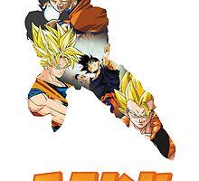 Goku DBZ w/ Title by PMckennaDesigns