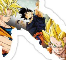 Goku DBZ w/ Title Sticker
