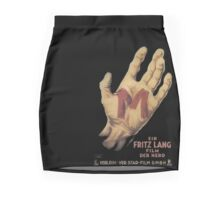 M Fritz Lang Mini Skirt