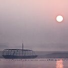 Ganges Sunrise.  by DaveBassett