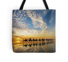 Cable Beach Icons Tote Bag