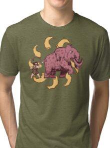 UPickVG 5 Mammoth by Fusspot Tri-blend T-Shirt