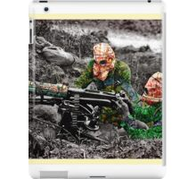 wartime : target practice iPad Case/Skin