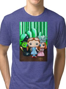Wizard of Oz Poptastic Fan art Tri-blend T-Shirt