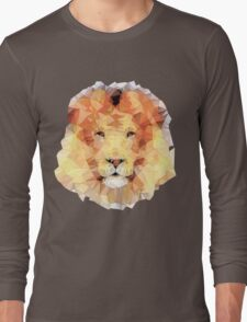 abstract lion Long Sleeve T-Shirt