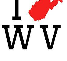 I Heart West Virginia by kwg2200