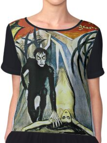 Caligari Poster 2 Chiffon Top