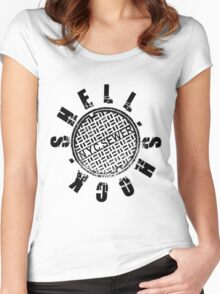 Shellshock Sewer Women's Fitted Scoop T-Shirt
