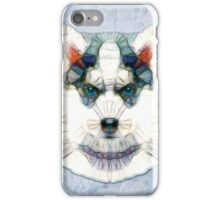 abstract husky iPhone Case/Skin