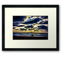 Pacific Beach Framed Print