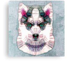 abstract husky Canvas Print