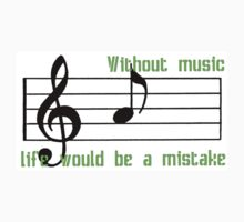 Without music, life would be a mistake by Christine Photography
