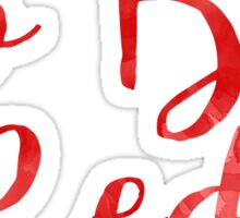 Go Big Red (University of Nebraska/UNL) Sticker