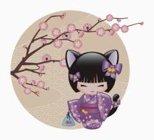 Neko Kokeshi Doll V2 Baby Tee