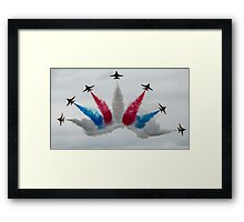 South Korean AF Black Eagles Framed Print
