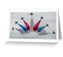 South Korean AF Black Eagles Greeting Card