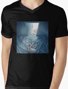 A Secret Little Blue Door Mens V-Neck T-Shirt
