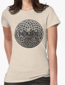 Yggdrasil Celtic Viking World Tree of Life Womens Fitted T-Shirt