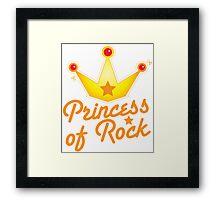 princess of rock Framed Print