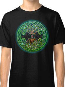 Yggdrasil Celtic Viking World Tree of Life color Classic T-Shirt
