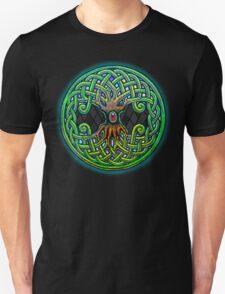 Yggdrasil Celtic Viking World Tree of Life color Unisex T-Shirt