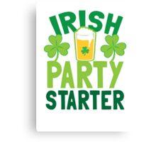 IRISH party starter Canvas Print